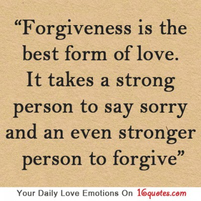 Are you able to forgive?